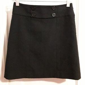 Ann Taylor Black A line skirt